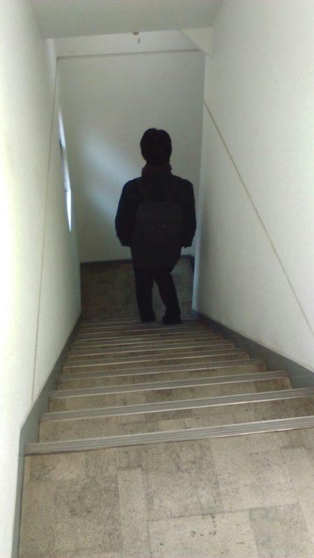 続・階段のぼり(本当はくだり)の発見