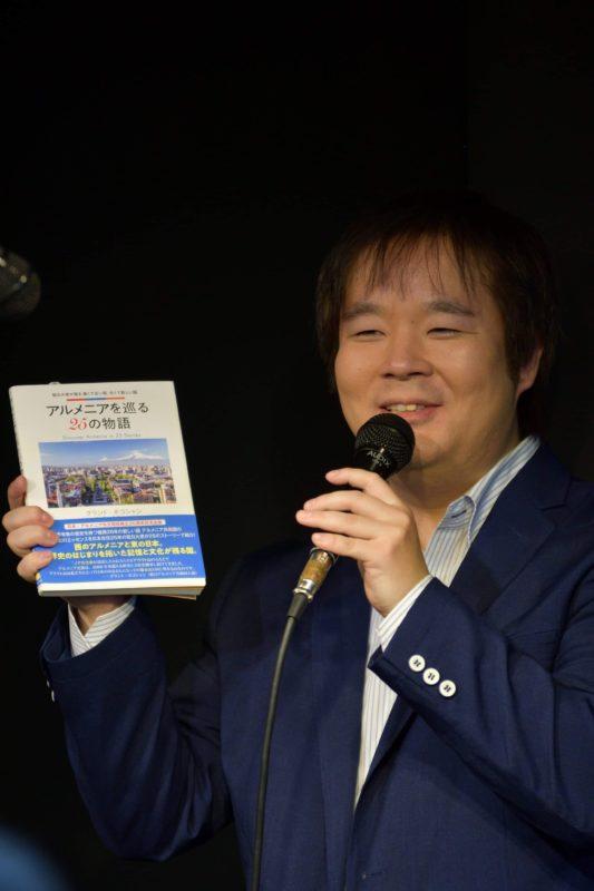 芸術文化新人賞受賞されました。~ドゥドゥク演奏者・樽見ヤスタカさん~