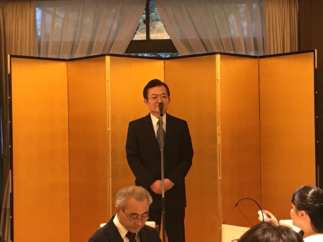 石原克己先生 新著出版記念祝賀会 開催!