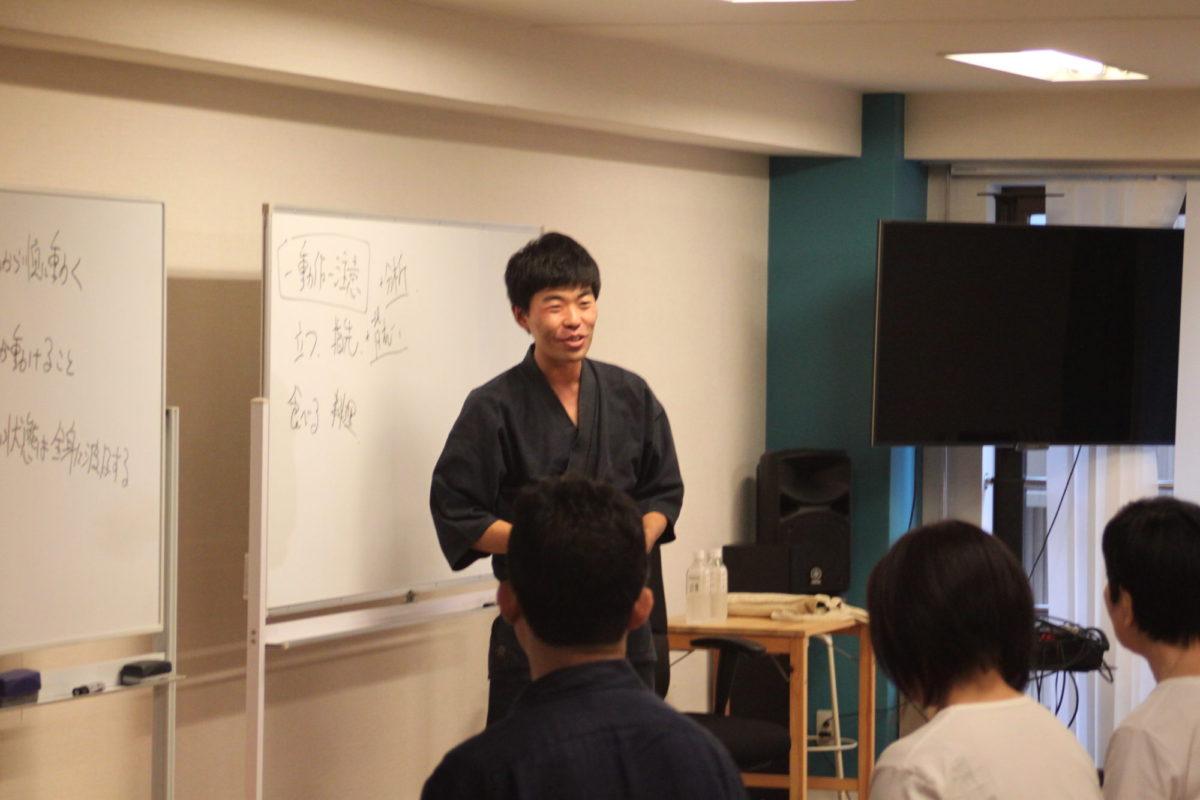 8/26わき道:甲野陽紀先生流「トラブル回避法」